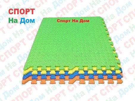 """Детские напольные коврики пазлы 60*60*1.2 см. """"Радуга"""", фото 2"""