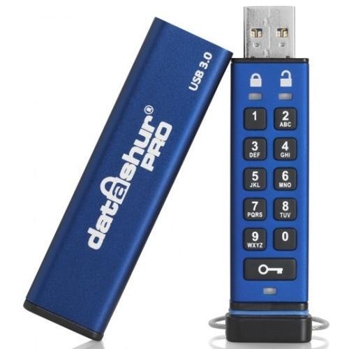 Флеш накопитель с защитой и шифрованием данных Flash Drive Datashur PRO
