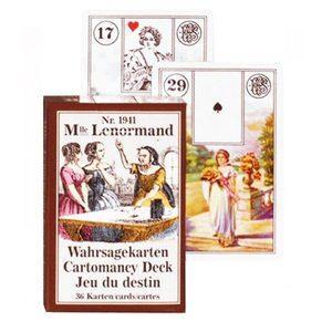 Гадальные карты Мадам Ленорман 36 листов