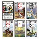 Гадальные карты Мадам Ленорман 36 листов, фото 2