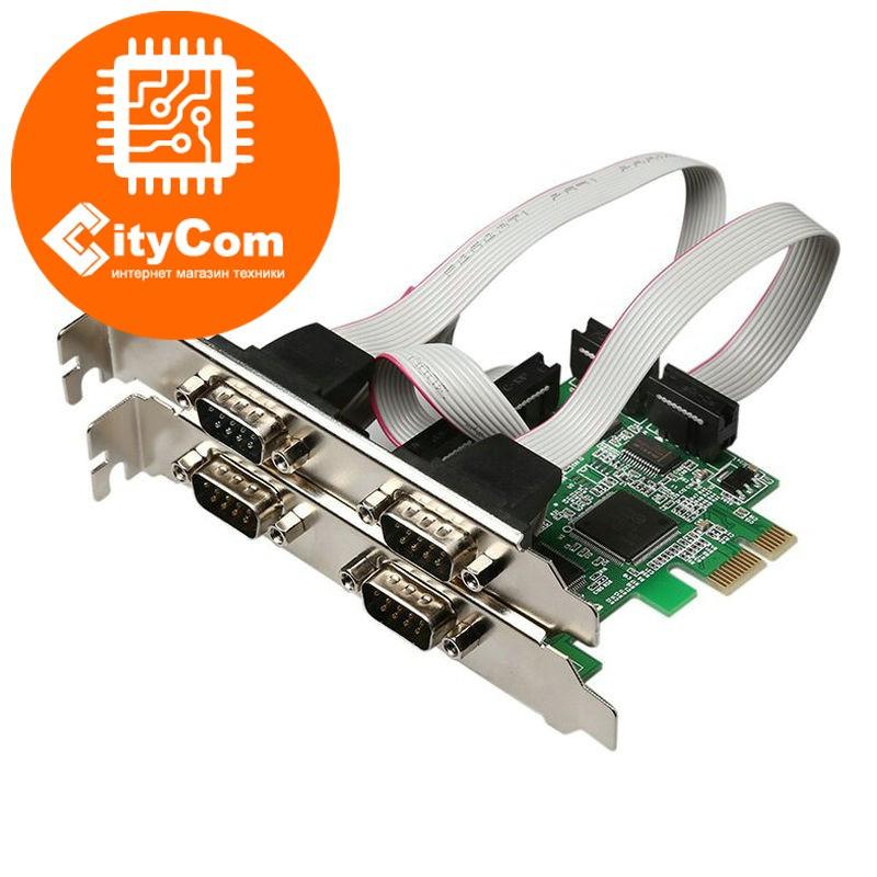 Контроллер плата PCI-Express 1x to 4xCOM (RS-232) controller Арт.5083
