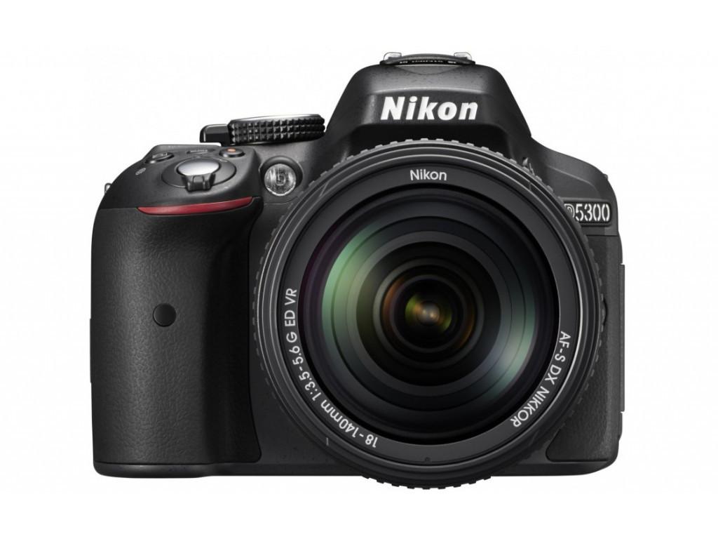 Фотоаппарат зеркальный Nikon D5300 Kit 18-140VR