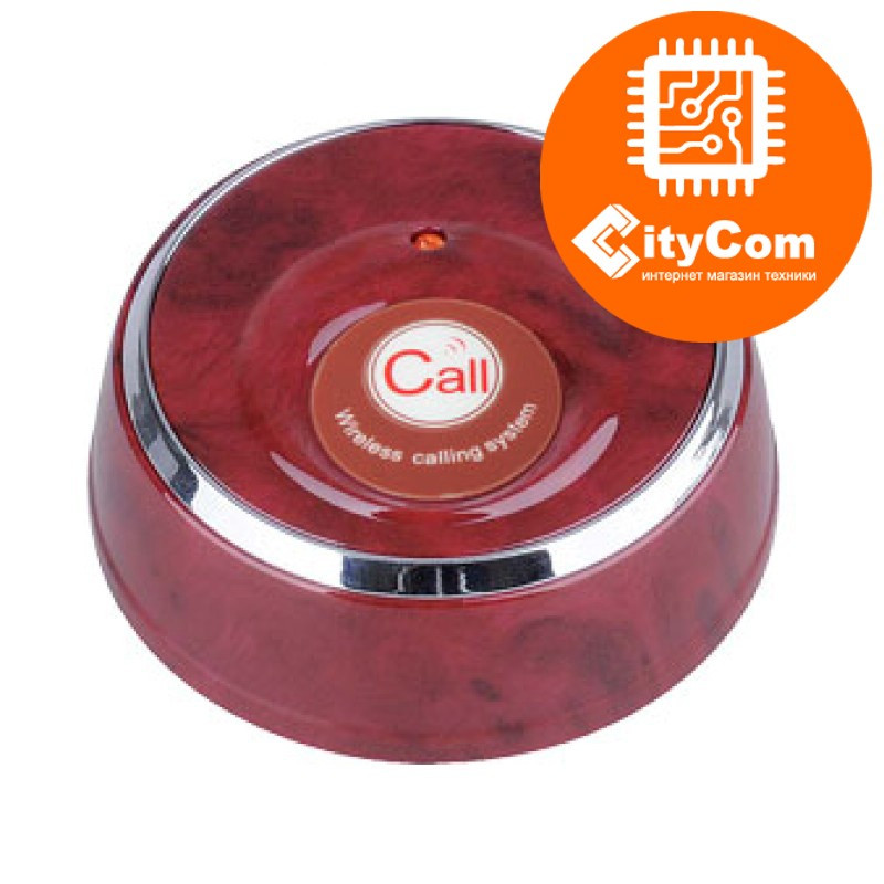 Кнопка вызова официанта iBells YK500-1F. Беспроводная. Оригинал.