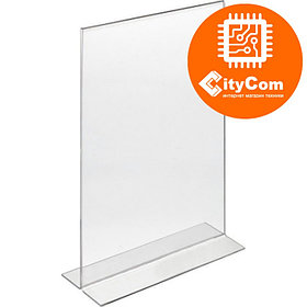 Менюхолдер (подставка для меню и рекламы), 19x10cm Арт.5070