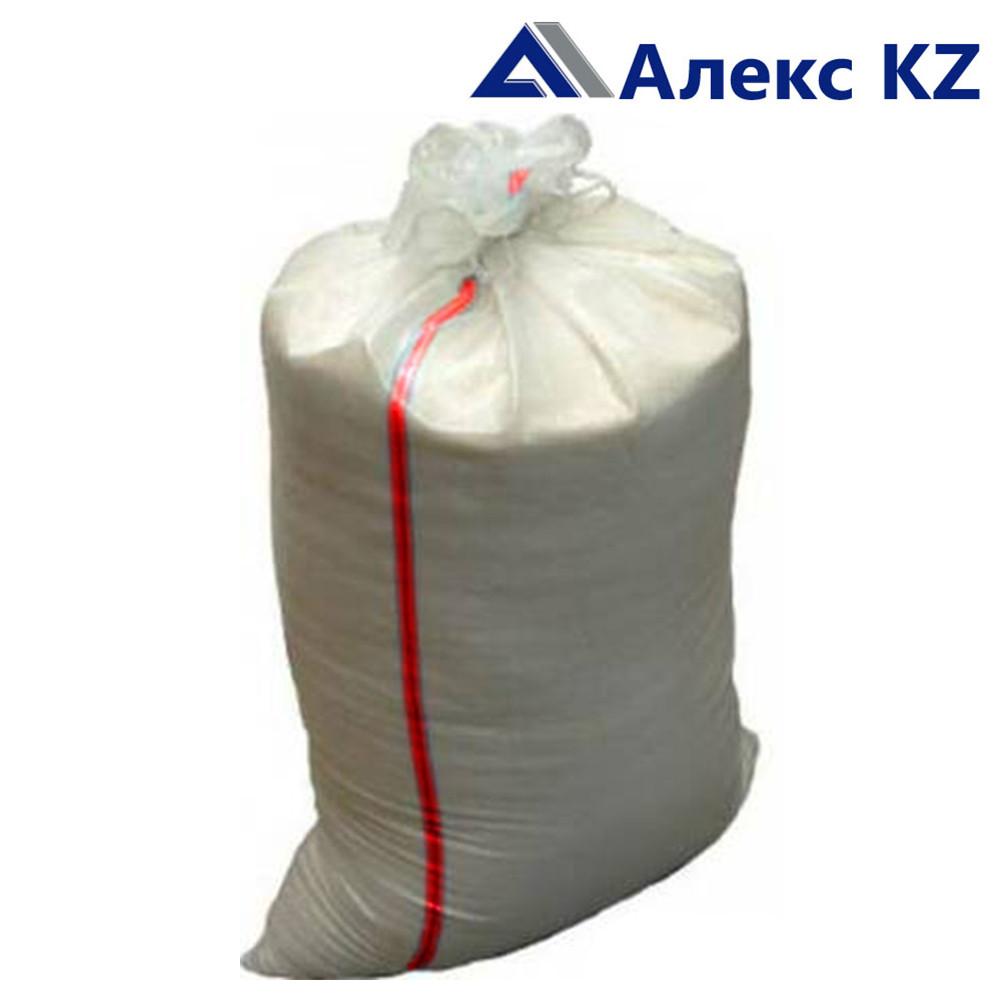 Мешки полипропиленновые 55*105 (белые с красной полосой) 70 гр