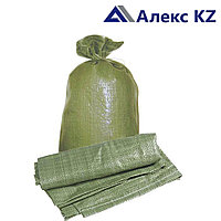 Мешки полипропиленновые 55*105 (зеленые) 65 гр