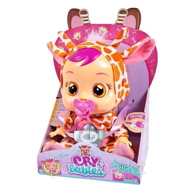 CRYBABIES (КрайБебис) Плачущий младенец Gigi (Жирафик)