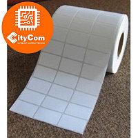 Термотрансферные этикетки 30х15мм, 5000 шт/рулон Арт.4056
