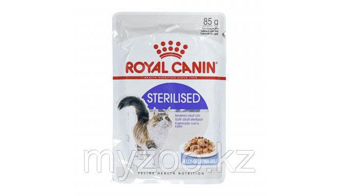 Влажный корм в желе для стерилизованных котов и кошек Royal Canin STERILISED JELLY 1*85g