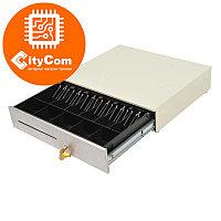 Денежный ящик для купюр и монет MERCURY CD-490 cash drawer (бежевый) Кассовый ящик. Автоматический. Арт.5372