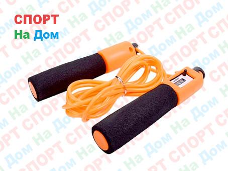Тросовая скакалка со счетчиком прыжков Haoxin Jump Rope GF-728-1