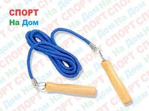 Тросовая скакалка с деревянными ручками Sunlin Sports Jump Rope 1217, фото 2
