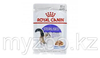 Влажный корм для стерилизованных кошек и котов Royal Canin STERILISED  PORK FREE 1*85