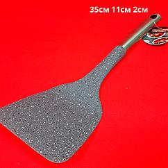 """Лопатка кухонная с металлической ручкой """"Shengya top choice"""""""