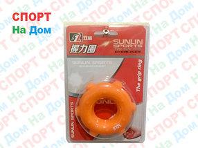 Кистевой силиконовый эспандер (бублик) Sunlin Sports 50 LB 1325