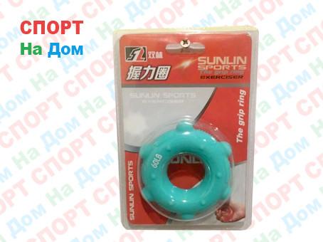 Кистевой силиконовый эспандер (бублик) Sunlin Sports 60 LB 1325