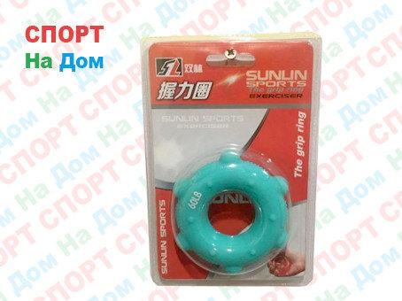 Кистевой силиконовый эспандер (бублик) Sunlin Sports 60 LB 1325, фото 2