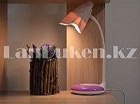 Настольная лампа с прищепкой сенсорная TOUCH LED LAMP CH9032 2 цветовые температуры