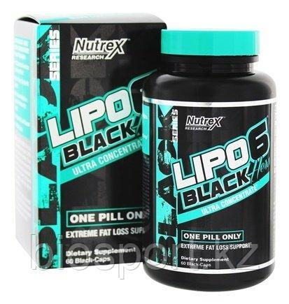 Lipo-6 Black Hers Ultra Concentrate, 60 caps