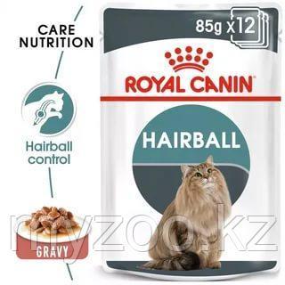 Влажный корм для выведения волосяных комочков у кошек Royal Canin HAIRBALL CARE 1*85G