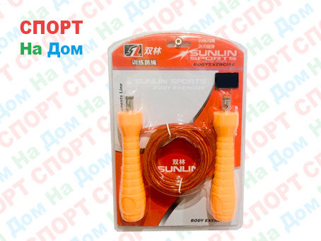 Тросовая скакалка Sunlin Sports Jump Rope, фото 2