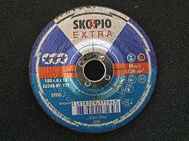 Круг шлифовальный 100 x 4 x 16 мм. SKORPIO EXTRA