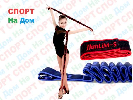 Резиновая эластичная лента эспандер Super Dance (цвет серый)