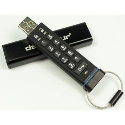 Флеш накопитель с защитой и шифрованием данных Datashur