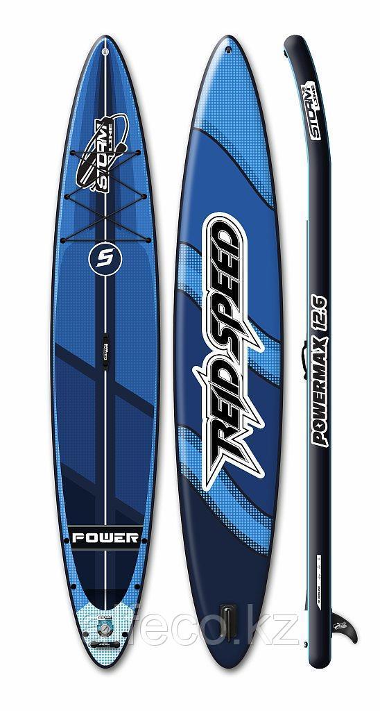 Надувная доска для сап-бординга Stormline Powermax 12,6 туринговая