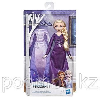 Disney Princess  ХОЛОДНОЕ СЕРДЦЕ 2 Эльза с доп. нарядом