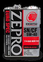 Моторное масло IDEMITSU ZEPRO EURO SPEC 5W-40, 4L