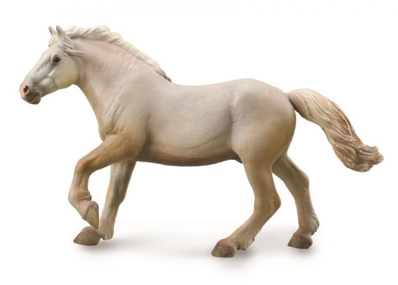 Collecta Фигурка Американская кремовая лошадь, 20 см.