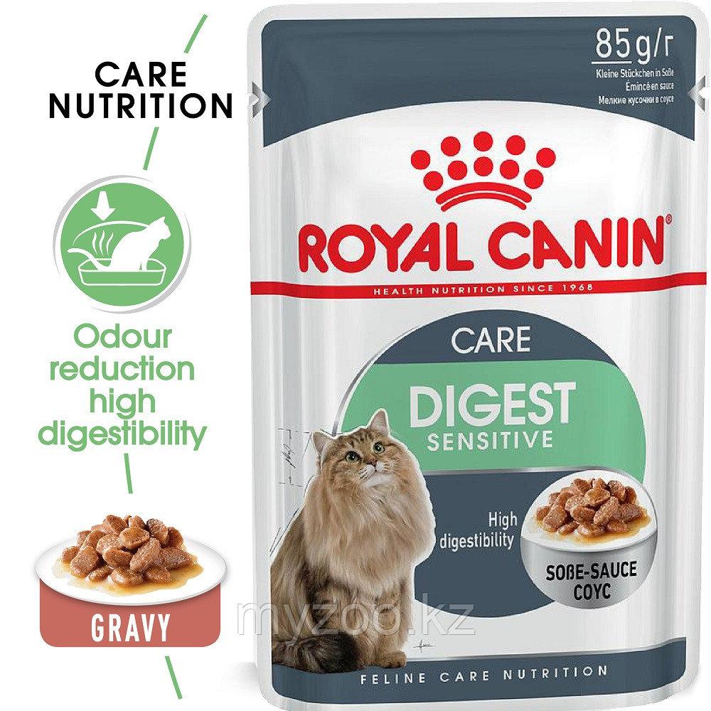 Влажный корм для кошек с чувствительным пищеварением Royal Canin DIGEST SENSITIVE (Sensible) 1*85
