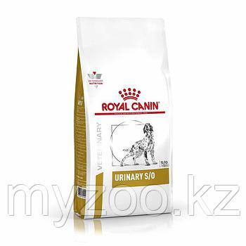 Корм для собак ветеринарного предназначения Royal Canin URINARY DOG  S/O 2kg.