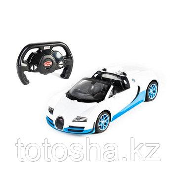 Радиоуправляемая машина Bugatti Veyron 16.4 Grand Sport Vitesse, Бело-Синий 1:14, RASTAR 70400WB