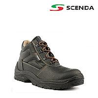 Ботинки кожаные СТИКС ПУ с металлическим подноском