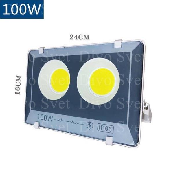 """Прожектор светодиодный FLOOD LIGHT 100 W """"Стандарт"""" серия, бюджетная. LED Прожекторы освещения 100 Ватт."""