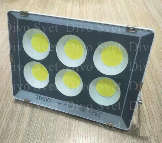"""Прожектор светодиодный FLOOD LIGHT 300 W """"Стандарт"""" серия, бюджетная. LED Прожекторы освещения 300 Ватт."""