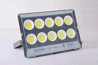 """Прожектор светодиодный FLOOD LIGHT 500 W """"Стандарт"""" серия, бюджетная. LED Прожекторы освещения 500 Ватт."""