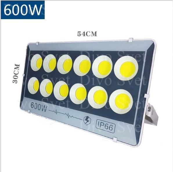 """Прожектор светодиодный FLOOD LIGHT 600 W """"Стандарт"""" серия, бюджетная. LED Прожекторы освещения 600 Ватт."""
