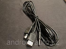 Дополнительный AUX кабель С-35USB c разъемом USB для зарядки iOS и Android