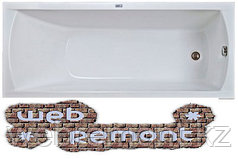 Акриловая прямоугольная ванна Модерн(170*75) см. Ванна+ножки.1 Марка. Россия