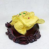 Статуэтка Трехлапая жаба, 12х11х7.5см