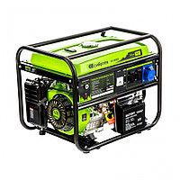 Генератор бензиновый БС-8000Э, 6,6 кВт, 230В, четырехтактный, 25 л, электростартер Сибртех, фото 1