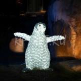 Купить Акриловая световая фигура пингвин 68Х65 см в Алматы