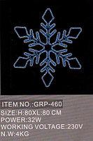 Светящиеся Снежинки 80Х80СМ в алматы, фото 1