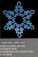 Светящиеся Снежинки 94Х94СМ в алматы, фото 1