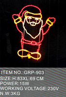 Световая фигура «Дед Мороз» 83Х6369СМ в алматы, фото 1