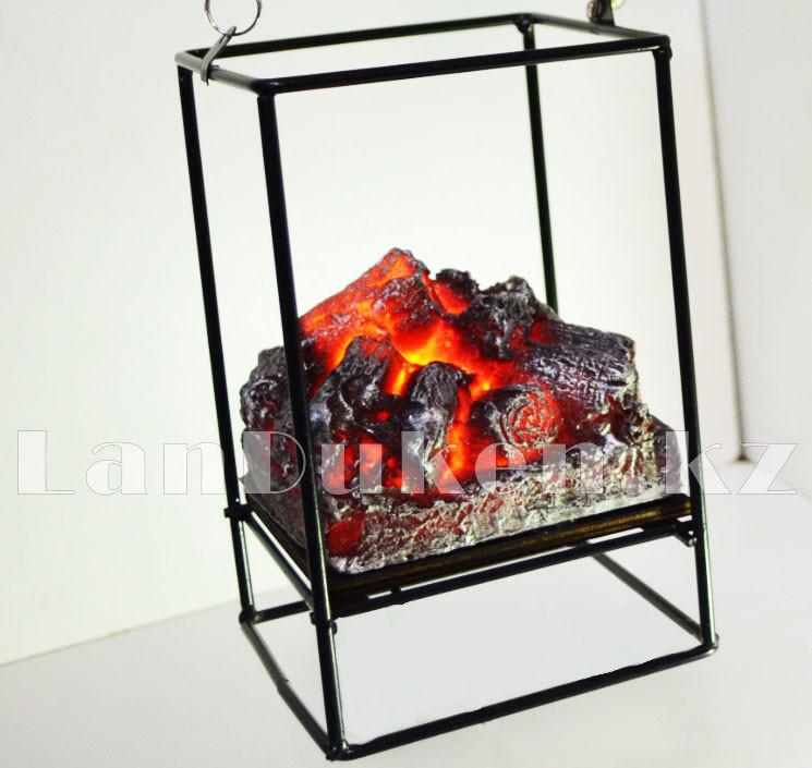 """Фонарь-ночник с эффектом живого огня """"камин"""" компактный дизайн USB/батарейки подключение 230x125 - фото 6"""
