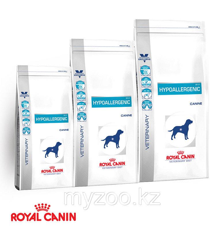 Корм для собак страдающих от аллергии Royal Canin HYPOALL CANINE 2kg.